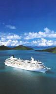 Just Deluxe Cruises (1-800-845-1717): Crystal Luxury Cruises in the Caribbean